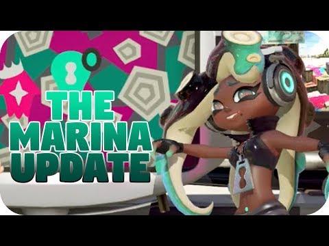 Marina also got buffed in the patch | Splatoon 2