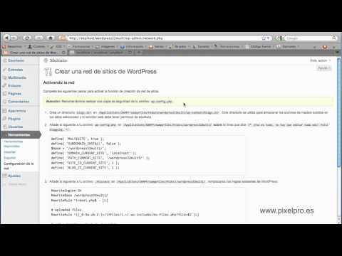 Multisite en wordpress