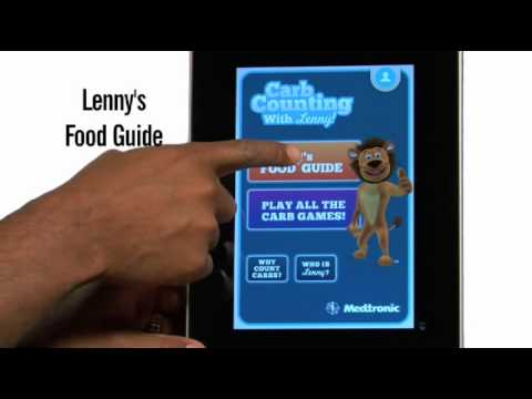 Video of Carb Counting with Lenny ANZ