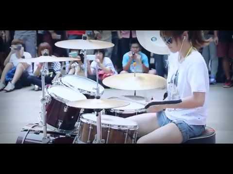 Drum drum chords fantastic baby : Music : Amazing Girl Drummer Does Bigbang Fantastic Baby Street ...
