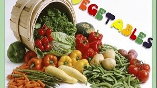 Learn Vegetables, English Language Videos