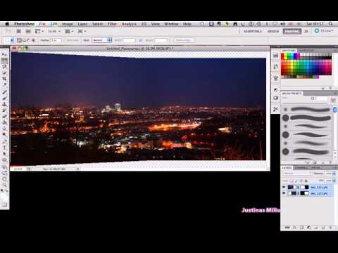 Creating a Panoramic Picture in Photoshop CS5 (TUTORIAL)