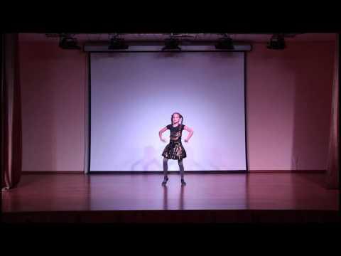 Варвара Генералова, 10 лет, танец  Точка, точка, запятая, танец) (видео)