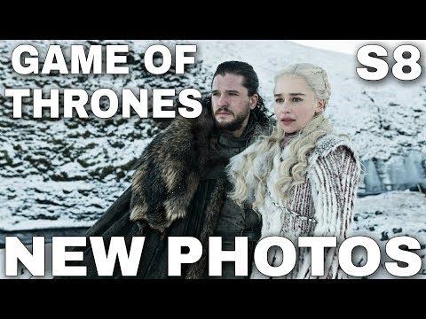 New Photos! Official Game of Thrones Season 8 Promo Images!