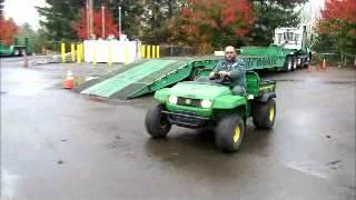 8. Sold! 2007 John Deere Gator UTV Off Road Utility Vehicle Cart bidadoo.com