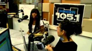 Kelly Rowland Interview with Power 105.1 NY