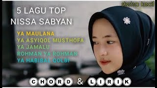 Video 5 Hits Lagu NISSA SABYAN MP3, 3GP, MP4, WEBM, AVI, FLV November 2018