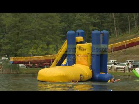 ACE Adventure Resort Blob Contest On The Lake