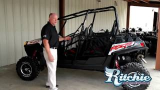 7. 2013 Polaris RZR XP 4 900 Black/White LE