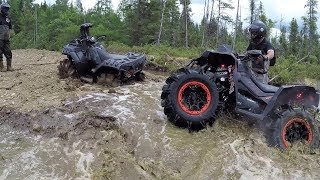 Video Who will break first? Polaris Sportsman xp1000 High Lifter, Can Am Renegade Xmr1000r MP3, 3GP, MP4, WEBM, AVI, FLV Juli 2019