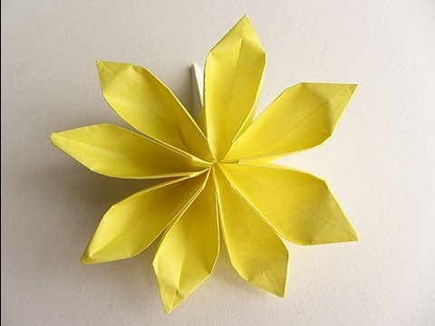 Flower Tutorial - 017 -- 8 Petal Flower