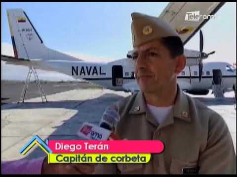 Armada del Ecuador vigila flota pesquera China fuera de zona exclusiva de Galápagos