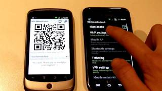 WiFi QR Share YouTube video