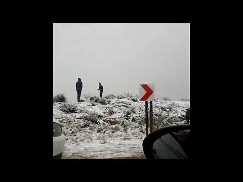 Χιόνια στη Ν.Αφρική