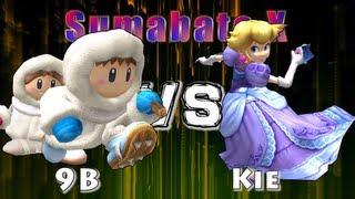 A pretty nice set from Japan: 9B (Ice Climbers) vs Kie (Peach)