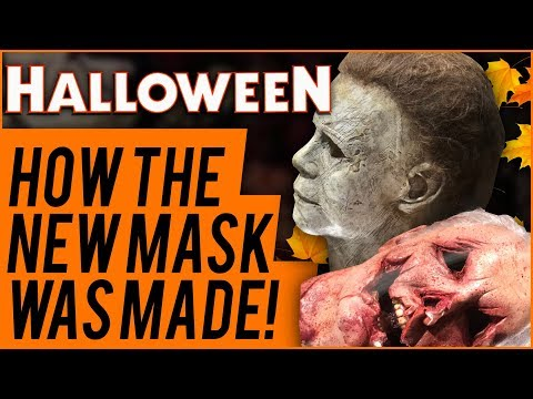 Halloween 2018: How the New Mask was Created by Trick or Treat Studios