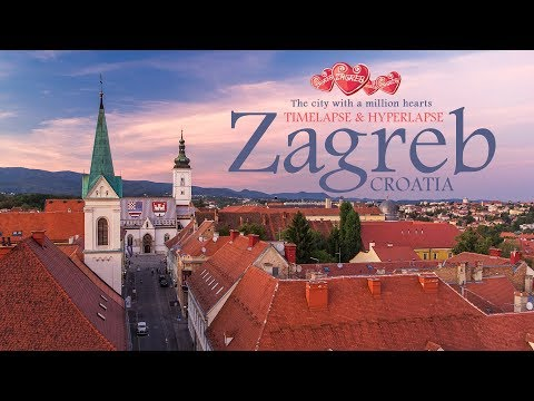 Zagreb - The city with a million hearts. Timelapse & Hyperlapse