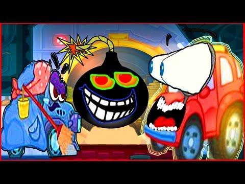 Wheely Вилли  Мультик  игра для детей про красную машинку (видео)