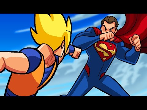Dragon Ball Z vs DC Superheroes - What If Battle -  [ DBZ / DBS  Parody