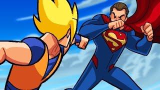 Video Dragon Ball Z vs DC Superheroes - What If Battle -  [ DBZ / DBS  Parody MP3, 3GP, MP4, WEBM, AVI, FLV Januari 2019