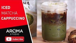 เมนูนี้เรียกเสียงฮือฮา และกระแสมาแรงมาก Ice matcha cappuccino