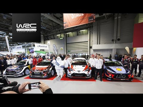 2018 WRC Season Launch @ Autosport International Show