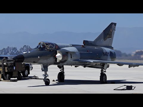 Flybys by ATAC's F-21 Kfir and...