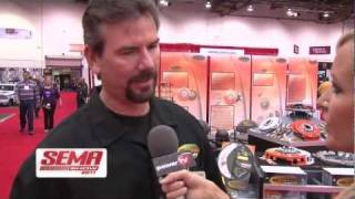 Centerforce Clutches Interviewed SEMA 2011 by PowerTV
