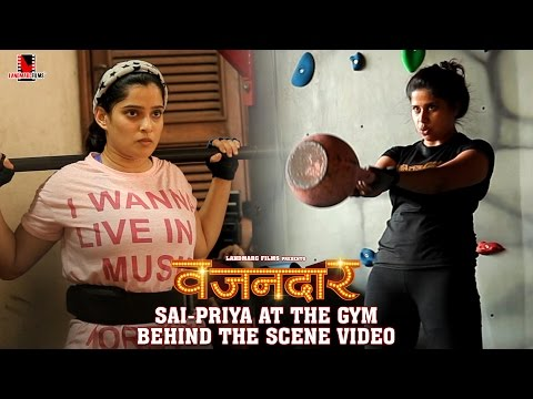 Sai Priya at the Gym Behind the Scene