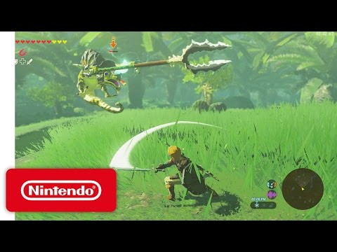 The Legend Of Zelda : Breath of the Wild - Gameplay commenté