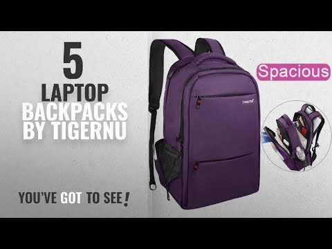 Top 10 Tigernu Laptop Backpacks [2018]: LAPACKER 15.6 - 17 inch Water Resistant Business Computer