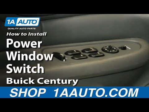 How To Install Replace Power Window Switch Buick Regal Century 1997-05 1AAuto.com