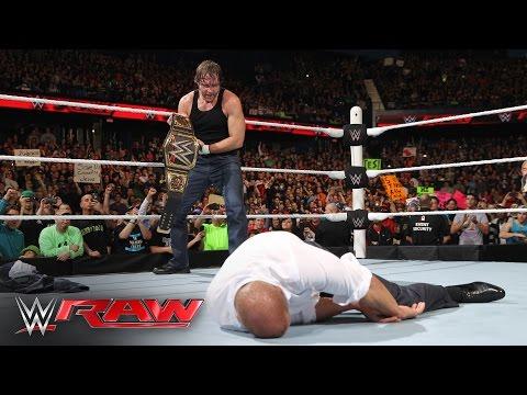 Dean Ambrose vs. Bray Wyatt: Raw, March 7, 2016