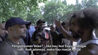 Video Yesus Datang! - Hashim Vs Visitor | Speakers Corner | Hyde Park MP3, 3GP, MP4, WEBM, AVI, FLV Januari 2019