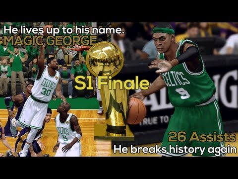 NBA 2K13 Celtics Dynasty Association: The Finals - Magic George And The Comeback (S01E14/FINALE)
