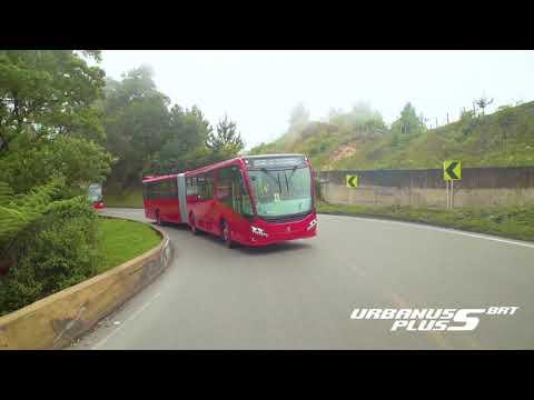 Urbanuss Pluss S5 Bus Articulado a Gas Euro 6