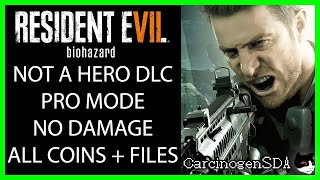 Video Resident Evil 7 Not a Hero DLC - Professional Mode, No Damage, All Coins, All Files Walkthrough MP3, 3GP, MP4, WEBM, AVI, FLV Juni 2019