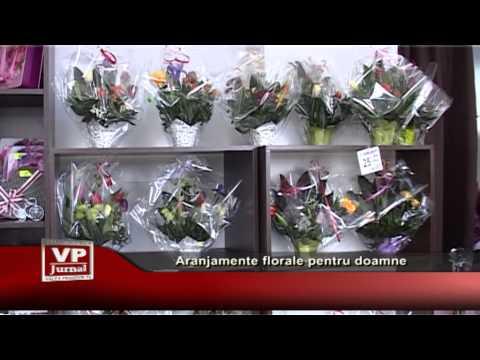 Aranjamente florale pentru doamne