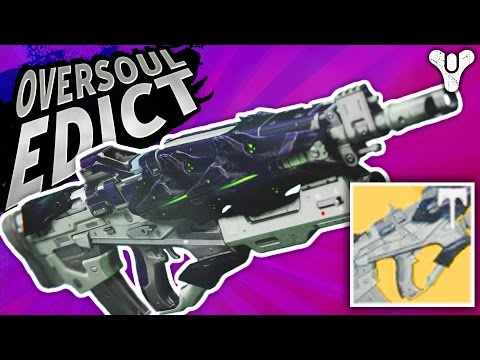 Frustration Levels RISING! Oversoul Edict (Adept) Pulse Rifle | Destiny (Age of Triumph) (видео)