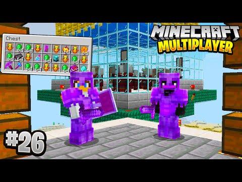 INFINITE LOOT FARM in Minecraft Multiplayer Survival! (Episode 26)