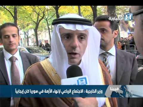 #فيديو :: الجبير: هنالك تباين في موعد رحيل الأسد.. وموقف السعودية لن يتغير