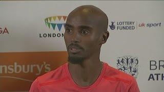 Mo Farah's anger at doping claims aimed at coach