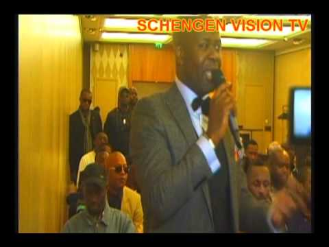 SCHENGEN VISION : CONFERENCE JB MPIANA PART 1