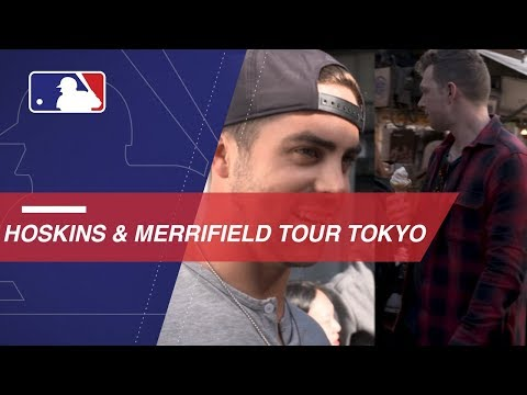 Video: Hoskins and Merrifield tour and taste Tokyo