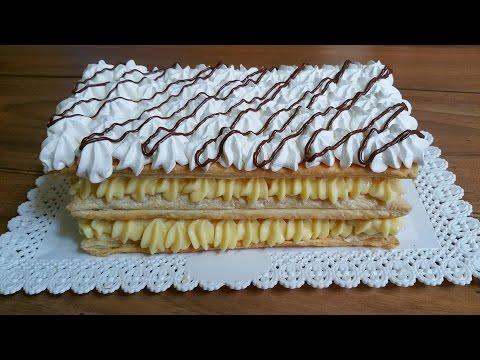 torta millefoglie - ricetta