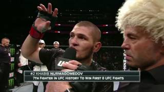 Video UFC 205: Khabib Nurmagomedov Octagon interview MP3, 3GP, MP4, WEBM, AVI, FLV Desember 2018