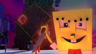 Minecraft | SPONGEBOB.EXE IS HERE FOR REVENGE! (Spongebob Maze Challenge)
