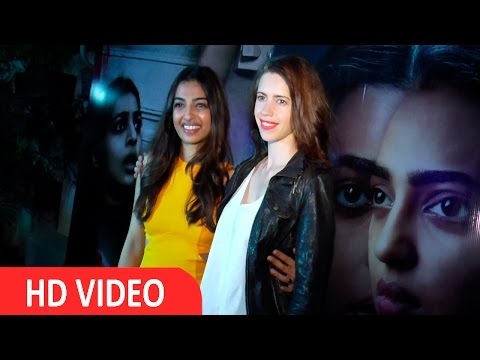 Kalki Koechlin & Radhika Apte At The Screening Of Film Phobia