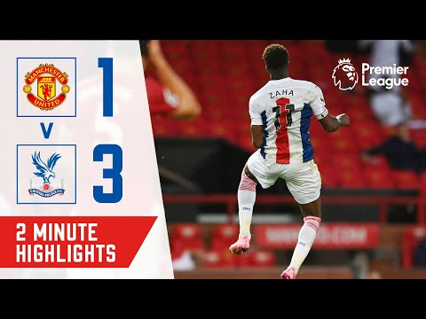 TOWNSEND OPENER & ZAHA DOUBLE! HIGHLIGHTS | MANCHESTER UNITED 1-3 CRYSTAL PALACE