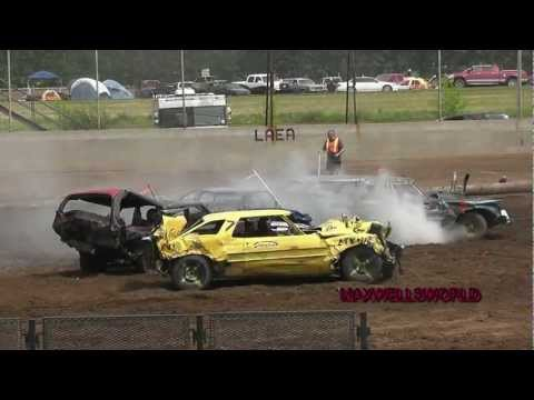 lloydminster - LLOYDMINSTER 2012 COLONIAL DAYS DEMO DERBY FULL SIZE CARS WINNER TAKES ALL MAXWELLSWORLD check out these other channels that you might enjoy my vloggin chann...